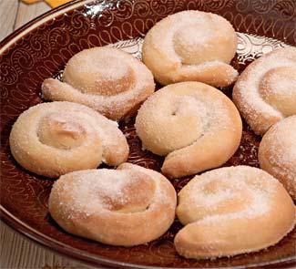 Рецепт сахарных булочек