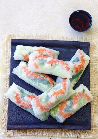 Рецепт роллов с рисовой бумаги