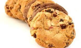 Рецепт печенья с клюквой и орехами