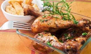 Рецепт куриных ножек под соусом