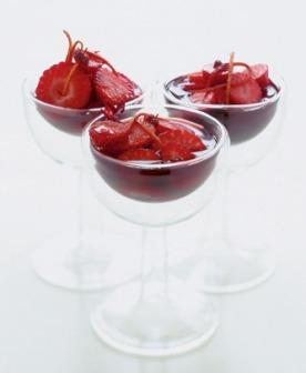 Рецепт клубники в вине