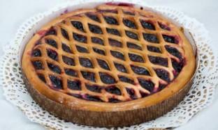 Рецепт вишневого пирога из консервированной вишни