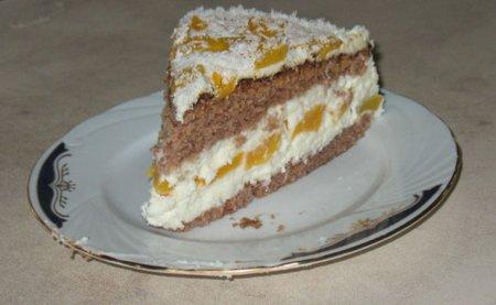 Рецепт торта «Зимняя сказка»