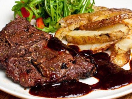 Рецепт баранины с желе из красной смородины