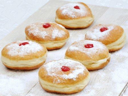 Рецепт пончиков с заварным кремом