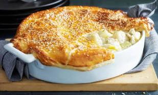 Рецепт пирога с капустой и курицей