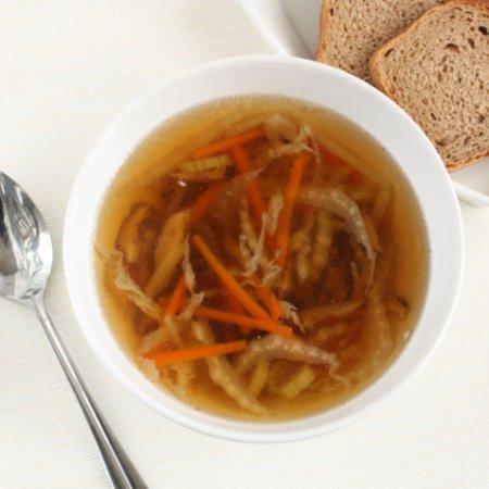 Рецепт супа с сушеными грибами шиитаке