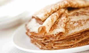 Рецепт блинов на коньяке с ореховой начинкой