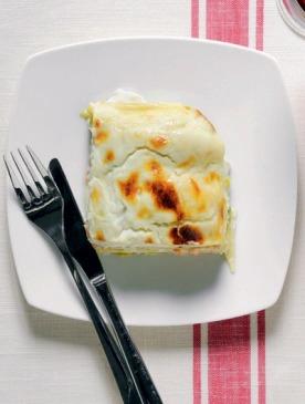 Рецепт лазаньи с козьим сыром