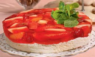 Рецепт фруктово–йогуртового желе