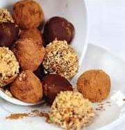 Рецепт шоколадных трюфелей с ромом