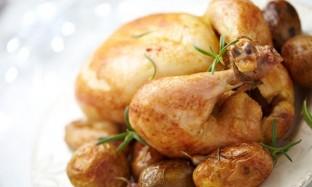 Рецепт запеченной рождественской курицы