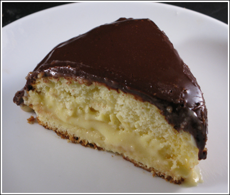 ������ Boston Cream Pie �� ����� ���