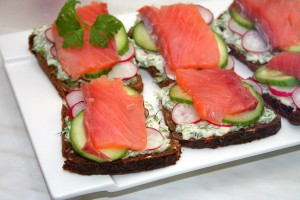 Вкусные датские сэндвичи