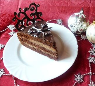 "Рецепт - Новогодний торт ""Сказка"""