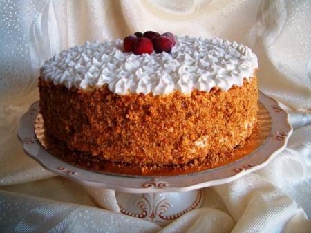 """Рецепт - Аппетитный торт """"Новогодняя сказка"""""""