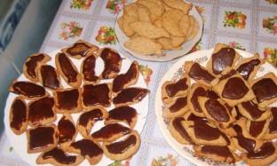 Рецепт печенюшек из орехов с шоколадом