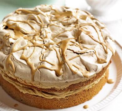 Рецепт – Хрустящий кофейный торт на 23 февраля