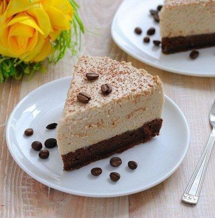 Рецепт – Кофейный торт-мусс на День всех Влюбленных