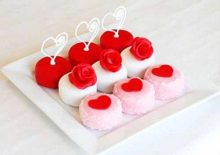 Рецепт – Пирожные на День Святого Валентина