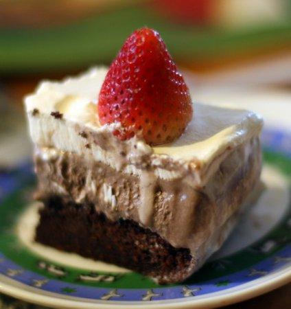 Рецепт – Торт-мороженое на 8 марта