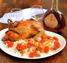 Рецепт курицы в томатно-розмариновом соусе