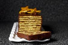 Рецепт многослойных шоколадных пирожных