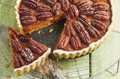Рецепт тыквенного пирога с орехами