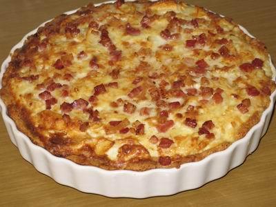 Рецепт элитного луково-яблочного пирога с голубым сыром