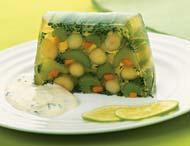 Пасхальное заливное из овощей: три рецепта