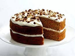 Рецепт тропического морковного торта