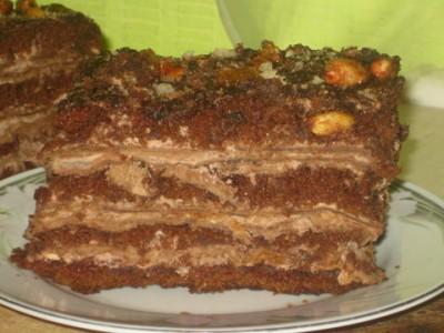Рецепт пирожных «Драматические»