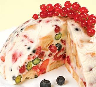 Вкусные торты с ягодами
