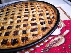 Пирог с джемом.