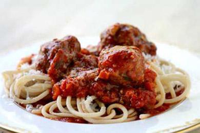 Рецепт фрикаделек со спагетти