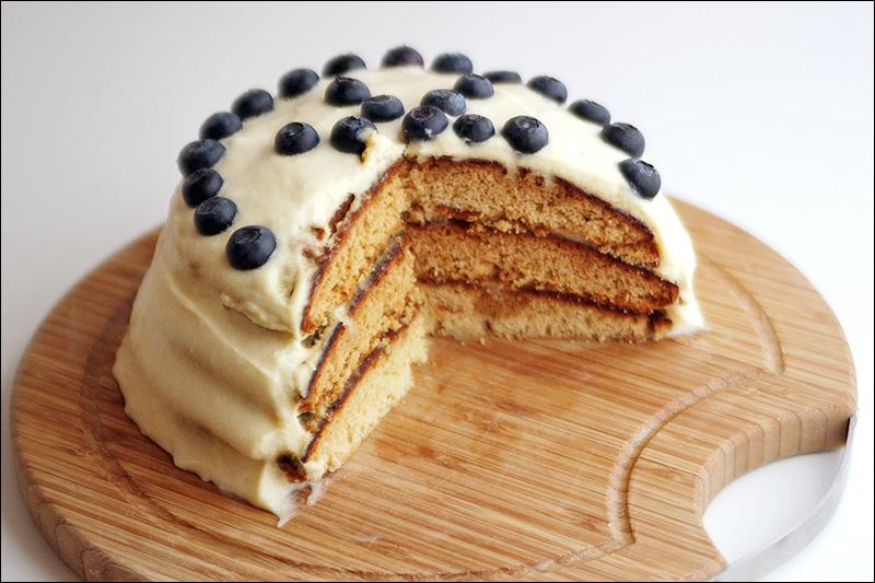 рецепт торта с начинкой маскарпоне