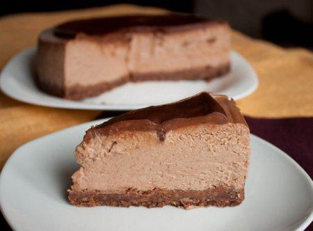 Рецепт - Тройной шоколадный чизкейк