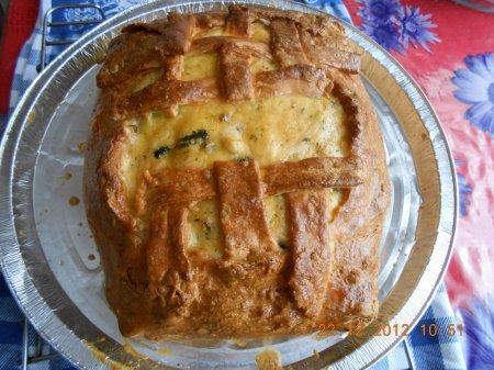 Рецепт - Рыбный пирог «Городской лапоть»