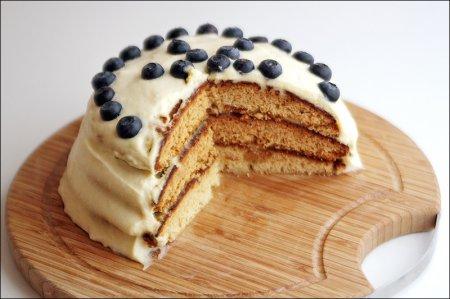 Рецепт медового торта с маскарпоне