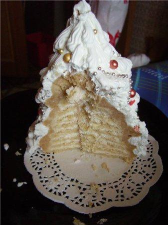 Рецепт торта  «Елочка»