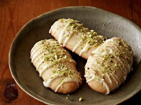 Рецепт печенья с белым шоколадом и фисташками