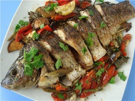 Вкусная рыба на ужин
