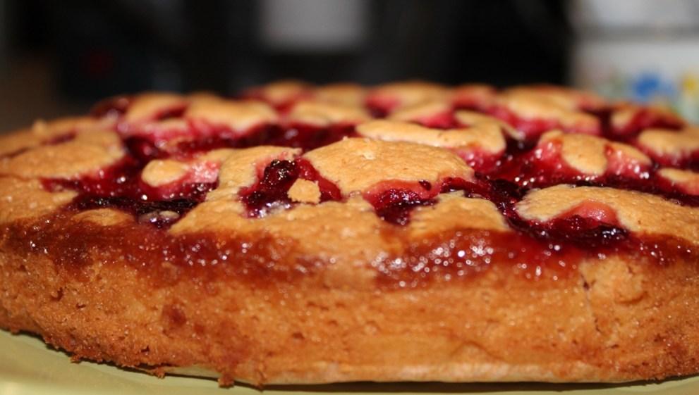 Пирог с клюквой простой рецепт
