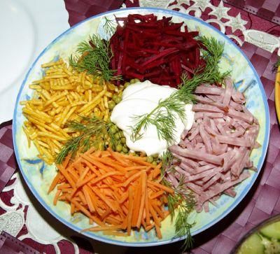 Салат свекла для детей рецепт