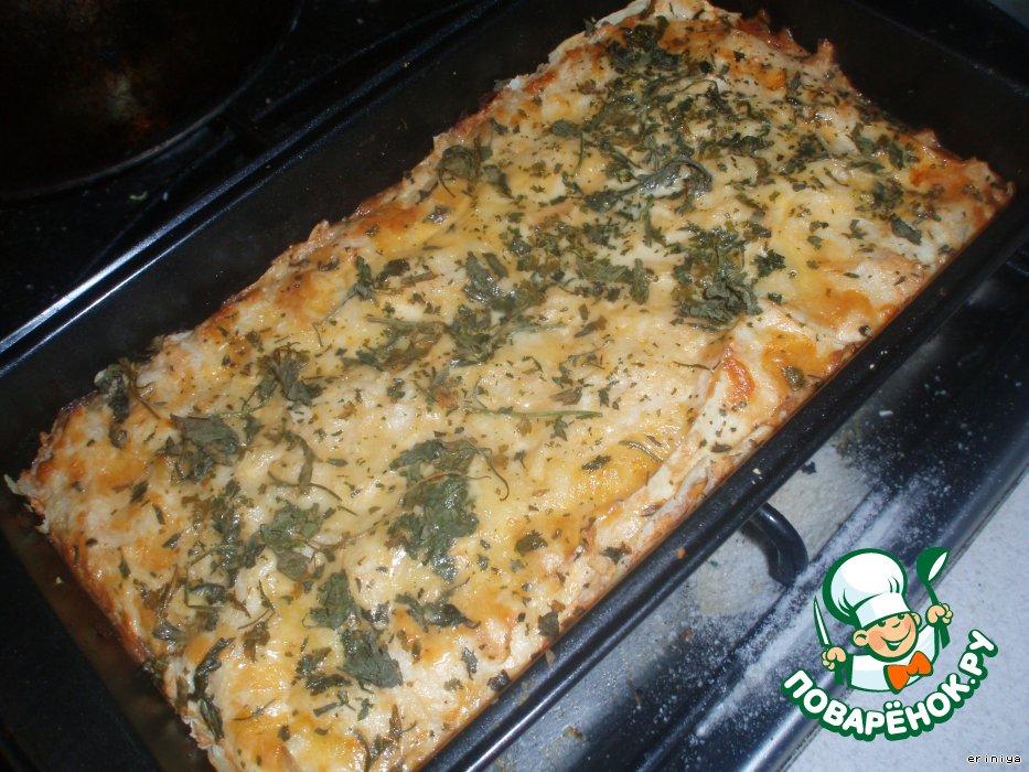 Пироги в духовке рецепты с рыбой