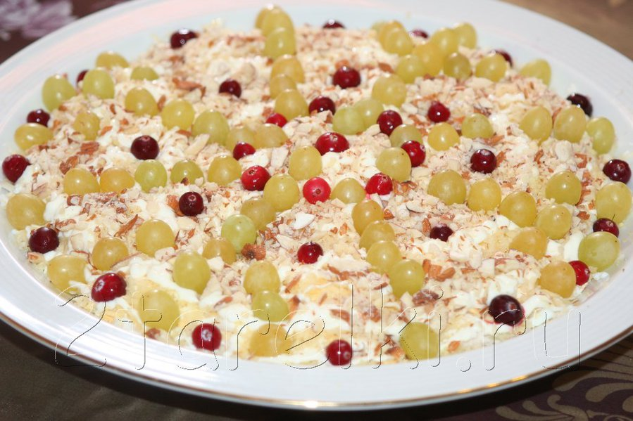 Рецепт зимнего салата с фото