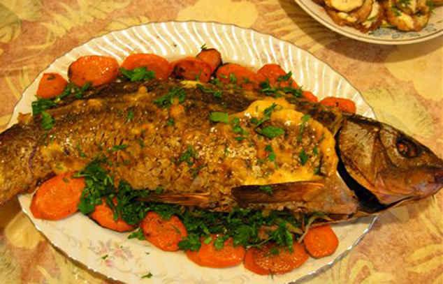 Блюда из сазана рецепты фото
