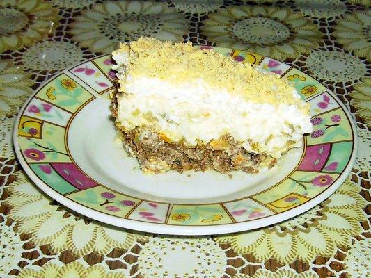 Рецепты печень под шубой
