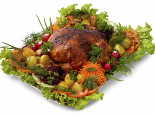 Курица гриль+гарнир