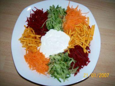 Салат ромашка с и рецепт